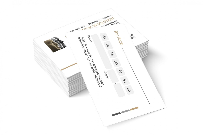 HNO-Zentrum Terminkarten