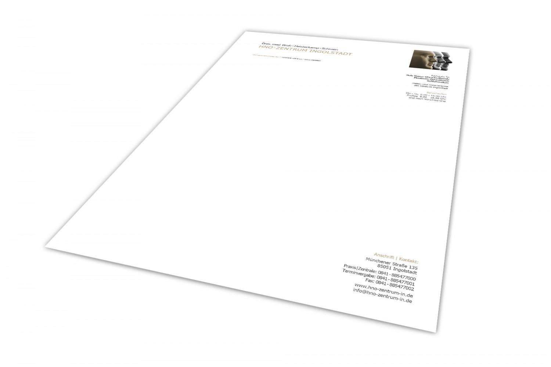 HNO-Zentrum Briefpapier